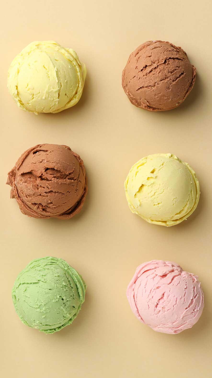 Sorbets et crèmes glacées | Raffin