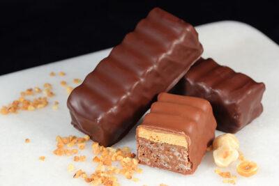 Barre crousti-délice | Gourmandises chocolatées | Pâtisserie Chocolaterie Raffin