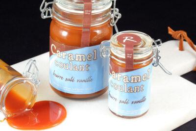 Pot de caramel au beurre salé vanille | Gourmandises chocolatées | Pâtisserie Chocolaterie Raffin