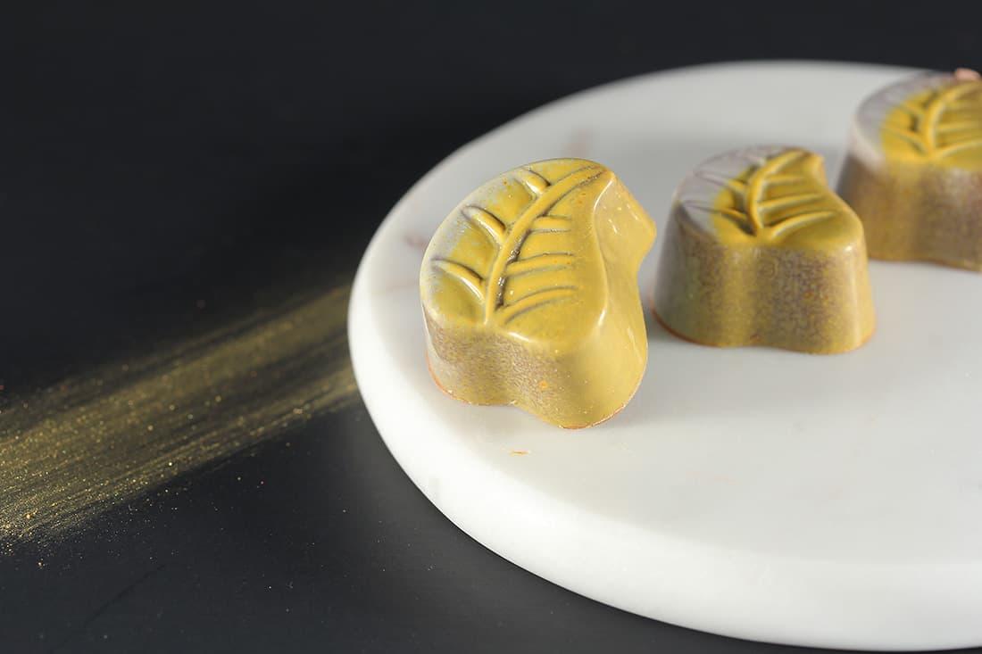 Feuille passion | Chocolats fins | Pâtisserie Chocolaterie Raffin